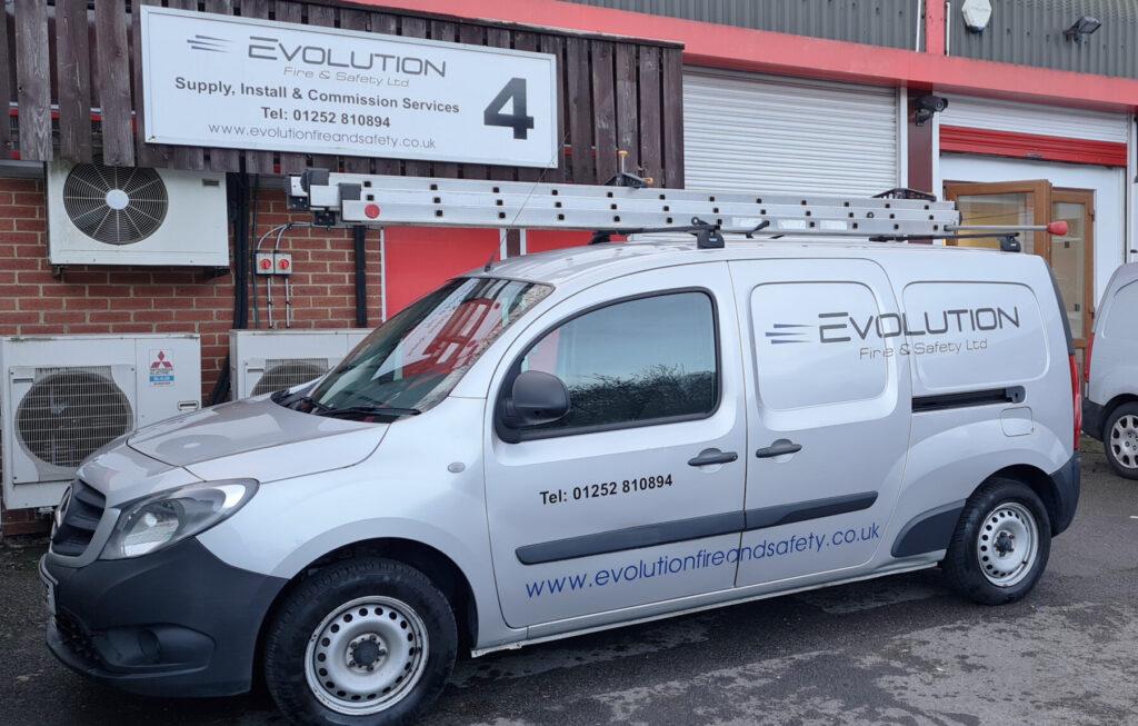 Evolution Fire & Safety Ltd Van